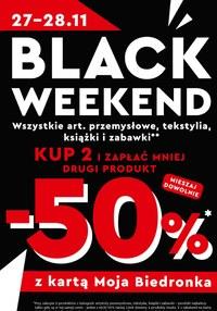 Gazetka promocyjna Biedronka - Black Weekend w Biedronce