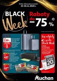Gazetka promocyjna Auchan Hipermarket - Promocje na Black Friday w Auchan! - ważna do 30-11-2020