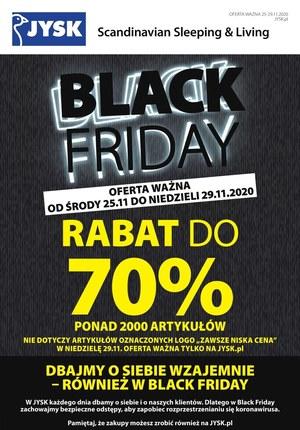Gazetka promocyjna Jysk - Black Friday w Jysk