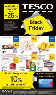Black Friday w Tesco!
