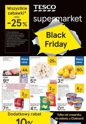 Gazetka promocyjna Tesco Supermarket - Jeszcze więcej okazji w Tesco Supermarket!