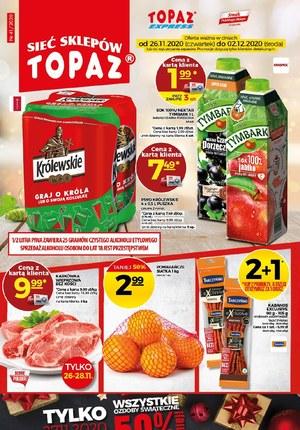 Gazetka promocyjna Topaz - Okazje w Topaz na nowy tydzień!