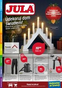 Gazetka promocyjna Jula - Dom na święta z Jula