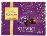 Śliwki w czekoladzie Equador
