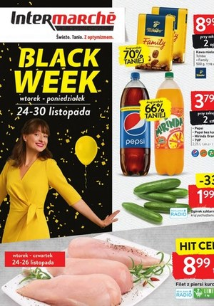 Gazetka promocyjna Intermarche Super - Black Week w Intermarche