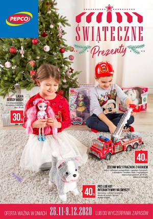 Gazetka promocyjna Pepco - Świąteczne prezenty w Pepco
