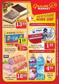 Gazetka promocyjna Gram Market - Niesłychanie niskie ceny w Gram Market - ważna do 01-12-2020
