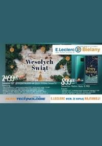 Gazetka promocyjna E.Leclerc - Oferta RTV i AGD w E.Leclerc Bielany - ważna do 12-12-2020