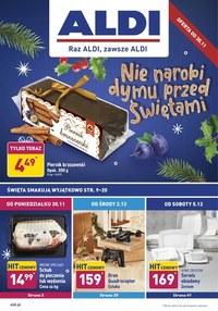 Gazetka promocyjna Aldi - Aldi nie narobi dymu przed świętami  - ważna do 05-12-2020