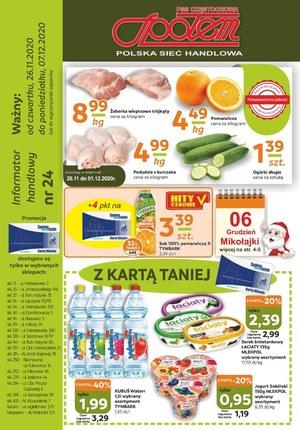Gazetka promocyjna PSS Społem Częstochowa - Gazetka promocyjna Społem Częstochowa