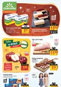 Gazetka promocyjna Stokrotka Market - Świąteczne okazje w Stokrotka Market! - ważna do 02-12-2020