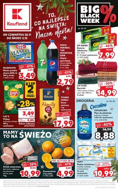 Najlepsze produkty na święta w Kaufland