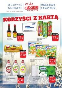 Gazetka promocyjna Społem Olsztyn - Promocje w PSS Społem Olsztyn