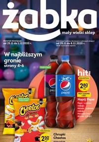 Gazetka promocyjna Żabka - Ciesz się promocjami w Żabka! - ważna do 08-12-2020