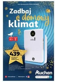 Gazetka promocyjna Auchan Hipermarket - Zadbaj o domowy klimat z Auchan! - ważna do 01-12-2020