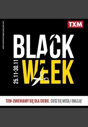Gazetka promocyjna Textil Market - Black Week w TXM
