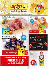 Gazetka promocyjna Prim Market - Prim Market Black Weekend - ważna do 02-12-2020