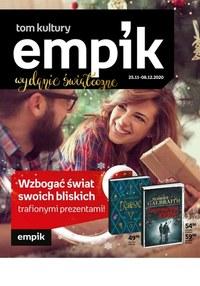 Gazetka promocyjna EMPiK - Gazetka świąteczna Empik - ważna do 08-12-2020