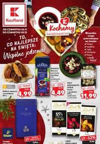 Gazetka promocyjna Kaufland - Kaufland - kochamy świętowanie - ważna do 24-12-2020