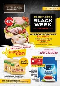 Gazetka promocyjna Spiżarnia Smakosza - Black Week w Spiżarni Smakosza - ważna do 09-12-2020