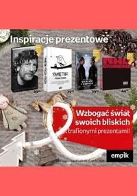 Gazetka promocyjna EMPiK - Inspiracje prezentowe w Empiku