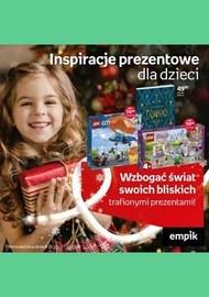 Prezenty dla dzieci w sieci Empik