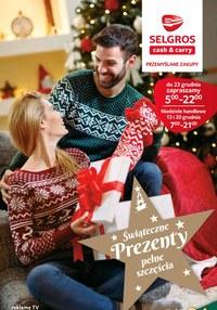 Gazetka promocyjna Selgros Cash&Carry - Świąteczne prezenty w Selgros Cash&Carry
