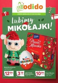 Gazetka promocyjna Odido - Lubimy Mikołajki! - Odido