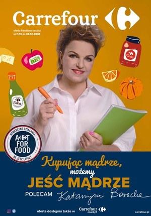 Gazetka promocyjna Carrefour - Jedz mądrze z Carrefour