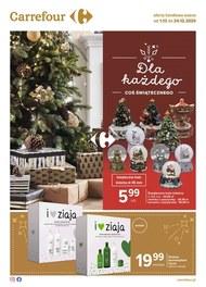 Coś świątecznego w Carrefour