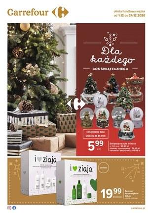 Gazetka promocyjna Carrefour - Coś świątecznego w Carrefour