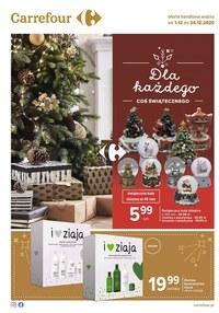 Gazetka promocyjna Carrefour - Coś świątecznego w Carrefour - ważna do 24-12-2020