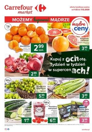 Gazetka promocyjna Carrefour Market - Carrefour Market - kupuj z ochotą!