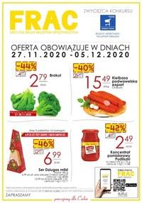 Gazetka promocyjna FRAC - Gazetka promocyjna Frac - ważna do 05-12-2020