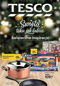 Gazetka promocyjna Tesco Centra Handlowe - Święta takie jak lubisz z Tesco! - ważna do 27-12-2020