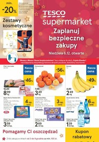 Gazetka promocyjna Tesco Supermarket - Jeszcze więcej okazji w Tesco - ważna do 09-12-2020