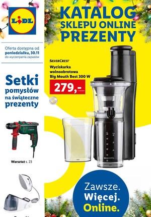Gazetka promocyjna Lidl - Lidl - katalog online prezenty