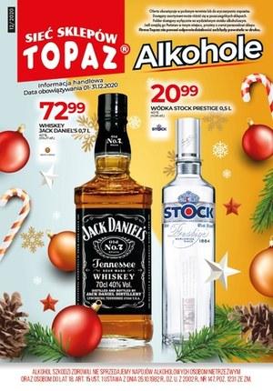 Gazetka promocyjna Topaz - Oferta alkoholowa w Topaz