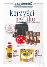 Gazetka promocyjna E.Leclerc - Korzyści bez liku w E.leclerc Bełchatów
