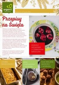 Gazetka promocyjna Organic - Przepisy na święta w Organic - ważna do 31-12-2020