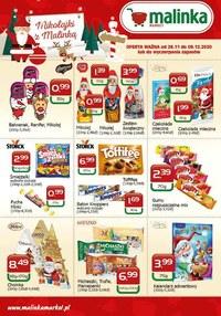 Gazetka promocyjna MALINKA Market - Promocje w Malinka Market - ważna do 09-12-2020
