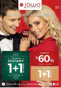 Gazetka promocyjna Jawa Drogerie - Świątecze okazje w Drogeriach  - ważna do 31-12-2020