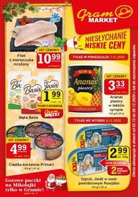 Gazetka promocyjna Gram Market - Paczki na Mikołajki tylko w Gramie! - ważna do 08-12-2020