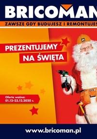 Gazetka promocyjna Bricoman - Prezenty na święta w Bricoman! - ważna do 23-12-2020