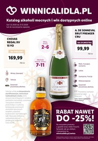 Gazetka promocyjna Lidl - Rabaty na alkohole w Winnicy Lidla