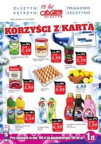 Gazetka promocyjna Społem Olsztyn - Promocje w Społem Olsztyn - ważna do 14-12-2020