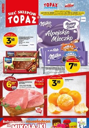 Gazetka promocyjna Topaz - Mikołajki w Topaz