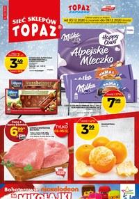 Gazetka promocyjna Topaz - Mikołajki w Topaz - ważna do 09-12-2020