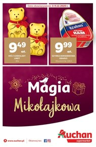 Mikołajkowa magia w Auchan Supermarket