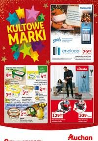Gazetka promocyjna Auchan Hipermarket - Kultowe marki w Auchan - ważna do 09-12-2020